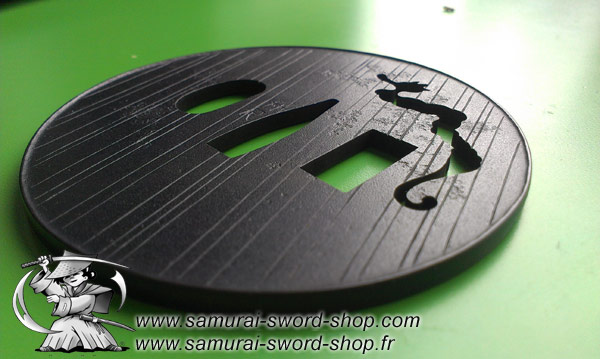 Small tsuba but very nice...